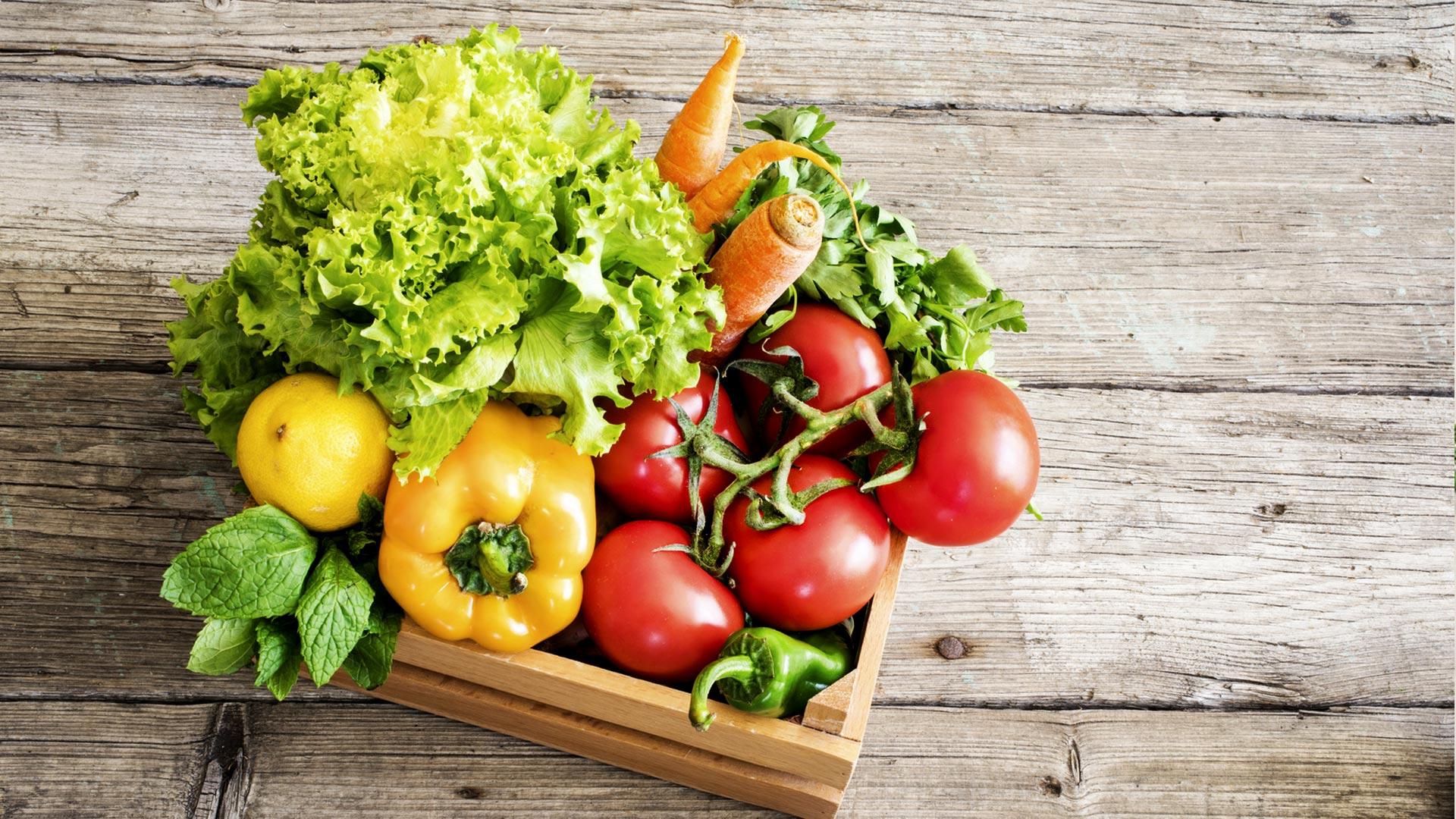 Lebenmittel lieferant Gemüse